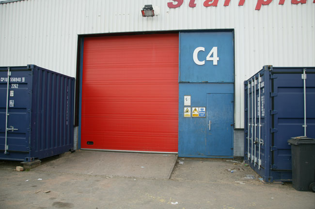 Rear Entrance to Unit C4