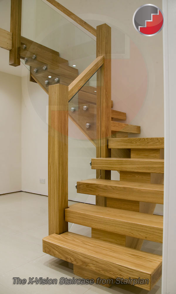 Oak Staircase with impact