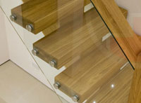 oak feature Staircases