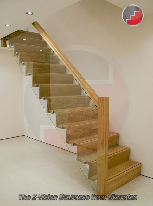 Z-Vision staircase for first impressions